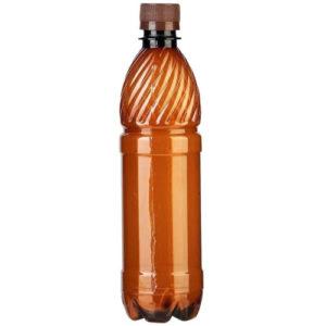 Бутылка ПЭТ коричневая 0,5 л